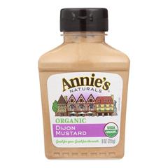 HGR0381764 - Annie's Homegrown - Organic Dijon Mustard - Case of 12 - 9 oz..