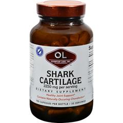 HGR0381897 - Olympian LabsShark Cartilage - 750 mg - 100 Capsules