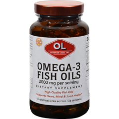 HGR0382978 - Olympian LabsOmega-3 Fish Oils - 2000 mg - 120 Softgels