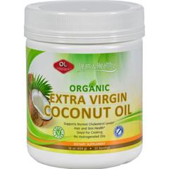 HGR0383513 - Olympian LabsCoconut Oil - Virgin - Refined - 10 oz