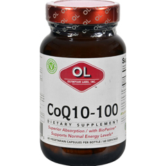 HGR0384883 - Olympian LabsCoenzyme Q10 - 100 mg - 60 Capsules