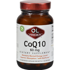 HGR0385062 - Olympian LabsCoenzyme Q10 - 60 mg - 60 Capsules