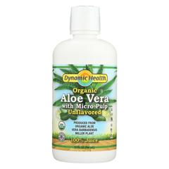 HGR0386706 - Dynamic HealthOrganic Aloe Vera Juice with Micro Pulp - 32 fl oz