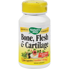 HGR0386805 - Nature's WayBone Flesh and Cartilage - 100 Capsules