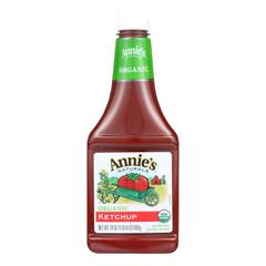 HGR0387316 - Annie's Homegrown - Organic Ketchup - Case of 12 - 24 oz..