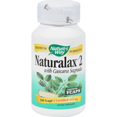 HGR0388603 - Nature's WayNaturalax 2 with Cascara Sagrada - 100 Vcaps