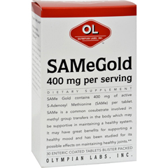 HGR0389155 - Olympian LabsSame Gold - 400 Mg - 30 Tablets
