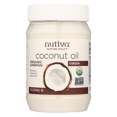 HGR0389874 - Nutiva - Extra Virgin Coconut Oil Organic - 15 fl oz