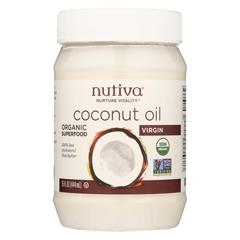 HGR0389874 - NutivaExtra Virgin Coconut Oil Organic - 15 fl oz