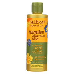 HGR0390096 - Alba BotanicaHawaiian Kona Coffee After-Sun Lotion - 8.5 fl oz