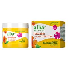 HGR0390138 - Alba BotanicaHawaiian Aloe and Green Tea Moisturizer Oil-Free - 3 oz