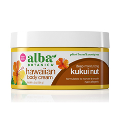 HGR0390328 - Alba BotanicaHawaiian Body Cream Kukui Nut - 6.5 oz