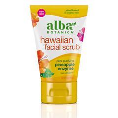HGR0390336 - Alba BotanicaHawaiian Pineapple Enzyme Facial Scrub - 4 fl oz