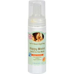 HGR0390930 - Earth Mama Angel BabyHappy Mama Body Wash Ginger Grapefruit - 5.3 fl oz