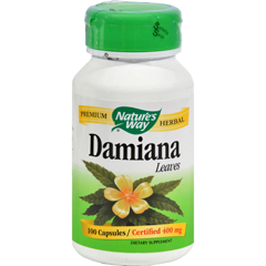 HGR0391201 - Nature's WayDamiana Leaves - 100 Capsules