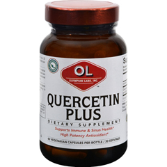 HGR0391250 - Olympian LabsQuercetin Plus - 1 g - 60 Vegetarian Capsules