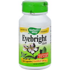 HGR0391607 - Nature's Way - Eyebright Herb - 100 Capsules
