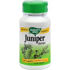 HGR0393306 - Nature's WayJuniper Berries - 100 Capsules