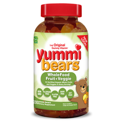 HGR0394270 - Hero NutritionalsHero Nutritionals Yummi Bears Whole Food Supplement For Kids - 200 Chewables