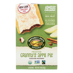 HGR0394395 - Nature's Path - Organic Frosted Toaster Pastries - Grannys Apple Pie - Case of 12 - 11 oz..