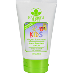 HGR0398784 - Nature's GateMineral Kids Block SPF 20 Fragrance Free - 4 fl oz
