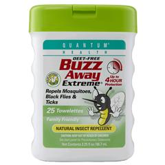 HGR0398933 - Quantum ResearchBuzz Away Extreme® Repellent Towelette Pop-Ups - 25 Towelettes