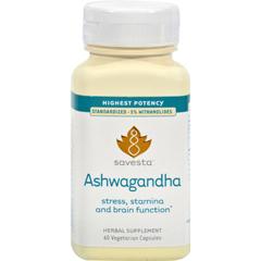 HGR0400598 - SavestaAshwagandha - 60 Vegetarian Capsules