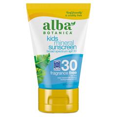 HGR0401521 - Alba Botanica - Very Emollient Natural Sun Block Mineral Protection Kids SPF 30 - 4 oz