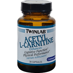 HGR0402842 - TwinlabAcetyl L-Carnitine - 500 mg - 30 Capsules
