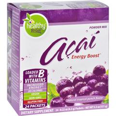 HGR0403055 - To Go BrandsAcai Natural Energy Boost Powder - 24 Packets