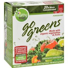 HGR0403204 - To Go BrandsGo Greens Fruit - 24 Packets