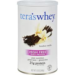 HGR0404475 - Tera's WheyProtein Powder - Organic - Whey - Bourbon Vanilla - 12 oz