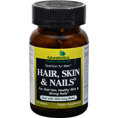 HGR0408427 - FutureBioticsHair Skin and Nails For Men - 75 Tablets