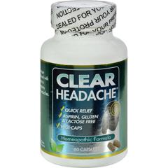 HGR0408831 - Clear ProductsClear Headache - 60 Capsules