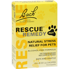 HGR0410167 - BachFlower Remedies Rescue Remedy Stress Relief For Pets - 10 ml