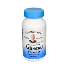 HGR0410811 - Dr. Christopher'sAdrenal Formula - 400 mg - 100 Caps