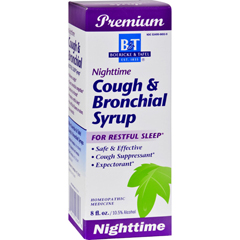 HGR0411645 - Boericke and TafelCough and Bronchial Syrup Nighttime - 8 fl oz