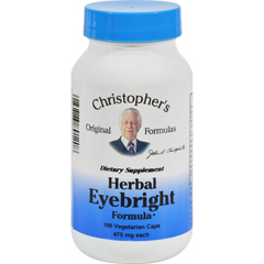 HGR0412197 - Dr. Christopher'sDr. Christophers Herbal Eyebright - 450 mg - 100 Vegetarian Capsules
