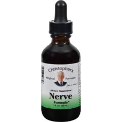 HGR0412650 - Dr. Christopher'sOriginal Forumlas Nerve Formula Glycerine Extract - 2 oz.