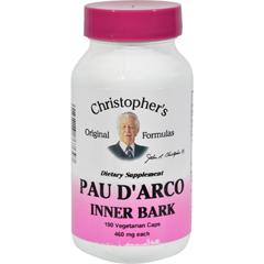 HGR0413054 - Dr. Christopher'sDr. Christophers Pau DArco - 500 mg - 100 Vegetarian Capsules