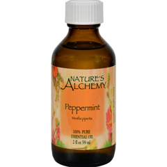 HGR0413088 - Nature's Alchemy - 100% Pure Essential Oil Peppermint - 2 fl oz