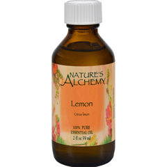 HGR0414235 - Nature's Alchemy100% Pure Essential Oil Lemon - 2 fl oz