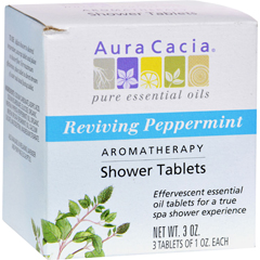 HGR0414409 - Aura CaciaReviving Aromatherapy Shower Tablets Peppermint - 3 Tablets
