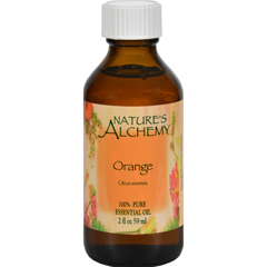 HGR0414441 - Nature's Alchemy100% Pure Essential Oil Orange - 2 fl oz
