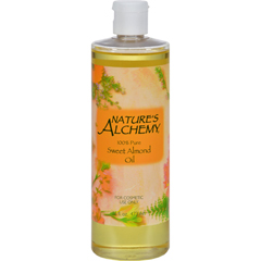 HGR0414540 - Nature's Alchemy - 100% Pure Sweet Almond Oil - 16 fl oz