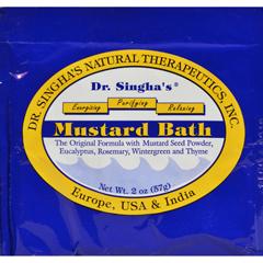 HGR0414557 - Dr. Singha's FormulationsMustard Bath - 2 oz