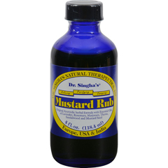 HGR0414599 - Dr. Singha's FormulationsMustard Rub - 4 fl oz