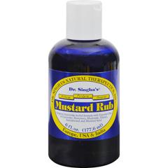 HGR0414631 - Dr. Singha's FormulationsMustard Rub - 6 oz