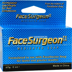 HGR0416255 - Face DoctorFace Surgeon II Medicated Soap - 2 oz