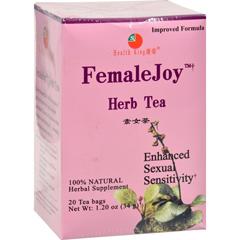 HGR0417337 - Health King Medicinal TeasFemaleJoy Herb Tea - 20 Tea Bags
